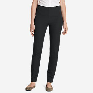 Women's Bremerton StayShape Stretch Twill Pants in Gray