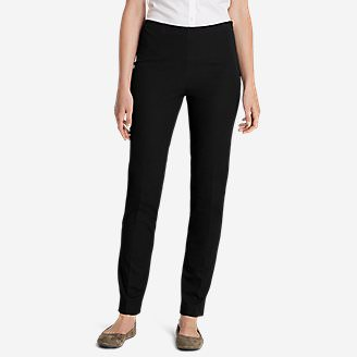 Women's Bremerton StayShape Stretch Twill Pants in Black