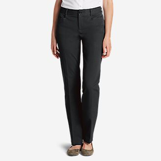 Curvy StayShape Stretch Twill Pants in Gray