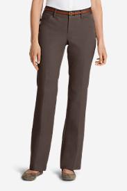 Women's StayShape Twill Trousers - Curvy in Gray