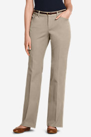 Women's StayShape Twill Trousers - Curvy in White