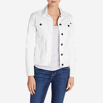 Women's Jean Jacket in White