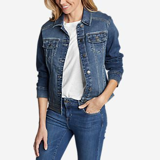 Women's Elysian Denim Jacket in Blue