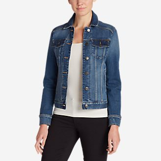 Women's Elysian Denim Jacket in Beige