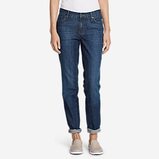 Women's Boyfriend Jeans in Blue