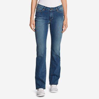 Women's StayShape Boot Cut Jeans - Curvy in Blue