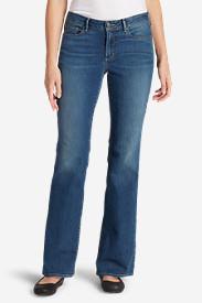 Women's StayShape Boot Cut Jeans - Slightly Curvy in Blue