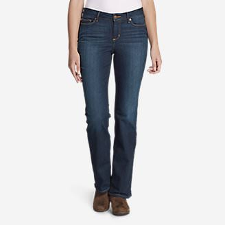 Women's StayShape Boot Cut Jeans - Slightly Curvy in Purple