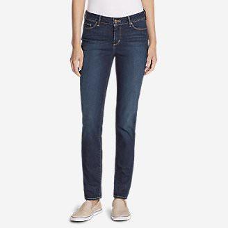 Women's Truly Straight Jeans - Straight Leg in Purple