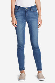 Women's Elysian Released-Hem Jeans in Blue
