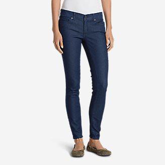 Women's Elysian Slim Straight Jeans - Slightly Curvy in Blue