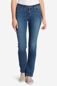 Women's StayShape Straight Leg Jeans - Curvy in Blue