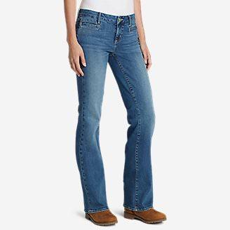 Women's Elysian Flare Jeans - Slightly Curvy in Blue