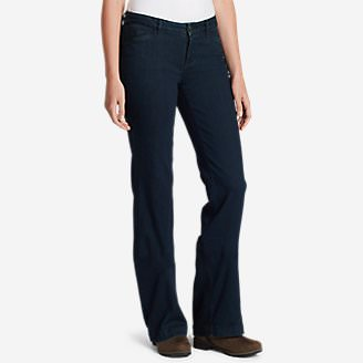 Women's Elysian Trouser Jeans - Curvy in Blue