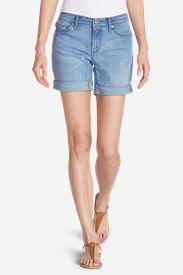 Women's Elysian Boyfriend Shorts in Blue