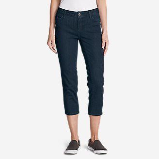 Women's Elysian Crop Jeans - Curvy in Blue