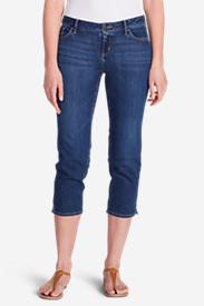Women's Elysian Crop Jeans - Curvy in Blue