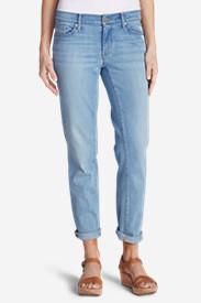 Women's Elysian Boyfriend Slim Jeans in Blue