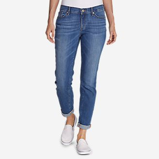 Women's Elysian Boyfriend Slim Jeans in Blue