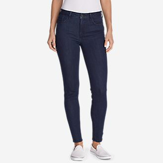 Women's Elysian Skinny High-Rise Jeans in Blue