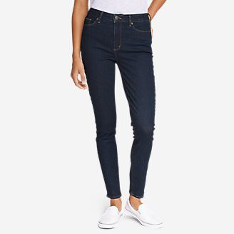 Women's StayShape High-Rise Skinny Jeans - Slightly Curvy in Blue