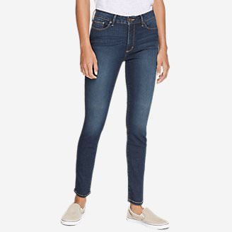 Women's StayShape Skinny Jeans - High Rise in Purple