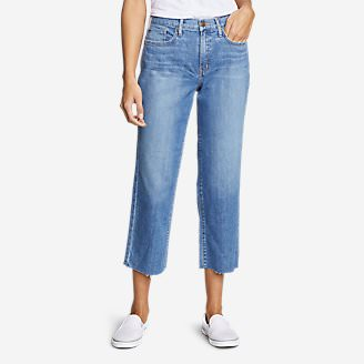 Women's Original High-Rise Stovepipe Crop Jeans in Blue