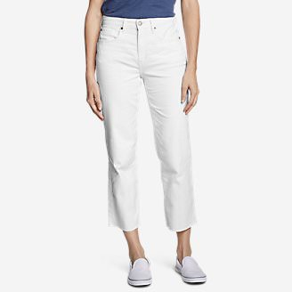 Women's Original High-Rise Stovepipe Crop Jeans in White
