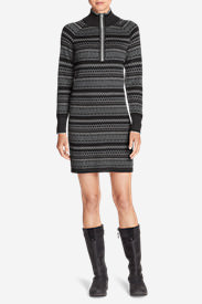 Women's Engage Sweater Dress in Gray