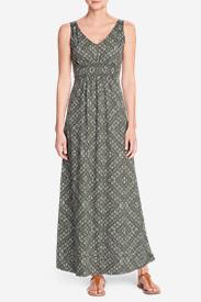 Women's Laurel Canyon Maxi Dress in Green