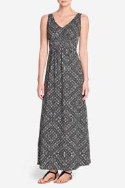 Women's Laurel Canyon Maxi Dress in Gray
