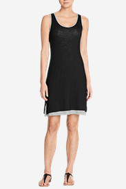 Women's Girl On The Go Reversible Dress in Black