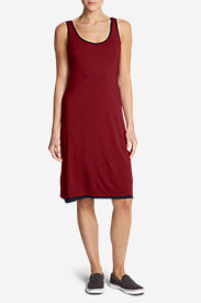 Women's Girl On The Go Reversible Dress in Red