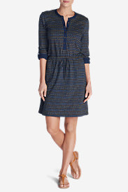 Women's Clyde Hill Dress - Print in Blue