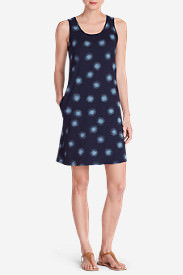 Women's Ravenna Dress - Print in Blue