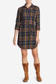Women's Hadley Dress in Brown