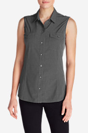 Women's Departure Sleeveless Shirt in Gray