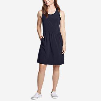 Women's Departure Dress - Solid in Blue