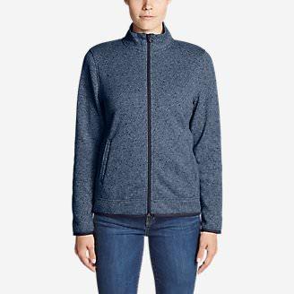Women's Radiator Fleece Full-Zip Jacket in Blue