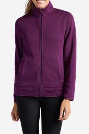 Women's Radiator Fleece Full-Zip Jacket in Purple