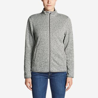 Women's Radiator Fleece Full-Zip Jacket in Gray