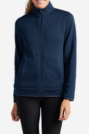 Women's Radiator Fleece Full-Zip Jacket in Blue