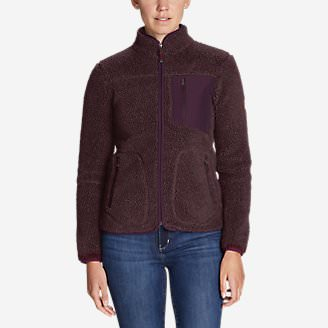 Women's Rangefinder Sherpa Jacket in Blue
