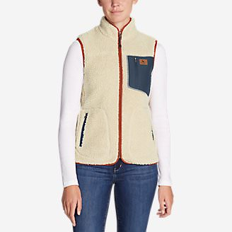 Women's Rangefinder Sherpa Vest in White
