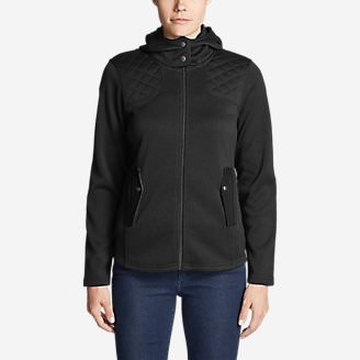 Women's Radiator Fleece Cirrus Jacket in Black