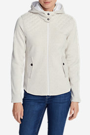 Women's Radiator Fleece Cirrus Jacket in White