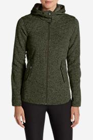 Women's Radiator Fleece Cirrus Jacket in Green