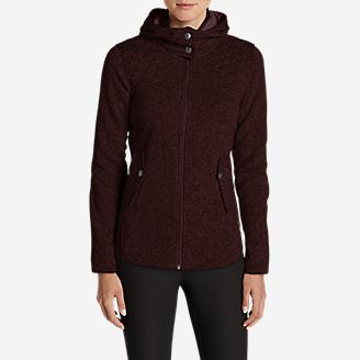 Women's Radiator Fleece Cirrus Jacket in Red