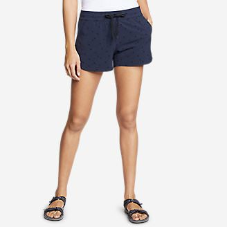 Women's Departure Amphib Shorts - Print in Blue