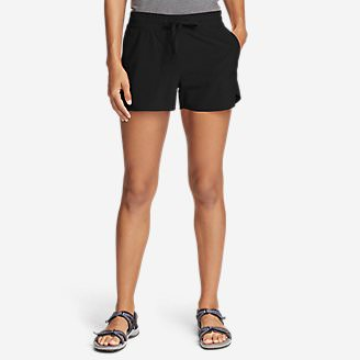 Women's Departure Amphib Shorts in Black